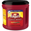 Folgers Canister Classic Roast Coffee Ground - Caffeinated - Arabica - Classic/Medium - 30.5 oz Per Canister - 1 Each