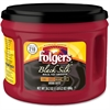 Folgers Black Silk Dark Ground Coffee Ground - Caffeinated - Black Silk - Dark - 24.2 oz Per Canister - 1 Each