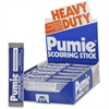 U.S. Pumice Heavy Duty Pumie Scouring Stick - 72 / Carton - Gray