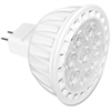 Satco 7-watt MR16 LED Dimmable Bulb - 7 W - 12 V DC - 520 lm - MR16 Size - Warm White Light Color - GU5.3 Base - 25000 Hour - 4940.3°F (2726.8°C) Color Temperature - 80 CRI - Energy Saver, Dim