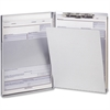 "OIC Aluminum Side Loading Form Holders - Storage for 30 x Document - Side Opening - 5.66"" x 9.50"" - Aluminum"