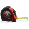"Sheffield ExtraMark Tape Measure - 25 ft Length 1"" Width - 144 / Carton - Black, Red"