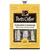 Peet's Coffee & Tea Colombia Luminosa Coffee - Compatible with Flavia - Caffeinated - Colombia Luminosa - Light - 72 / Carton