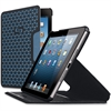 "Solo Vector Carrying Case for iPad mini, Tablet - Black, Blue - Bump Resistant Interior, Scratch Resistant Interior, Strain Resistant, Slip Resistant Base - Polyester, Silicone Base - Textured - 8"" He"