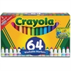 Crayola Washable Markers - Conical Point StyleGel-based Ink