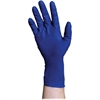 DiversaMed 8mil High-Risk EMS Exam Glove - Medium Size - Latex - Blue - Beaded Cuff, Disposable, Powder-free, Non-sterile, Liquid Resistant, Heavyweight - For Construction, Medical, Laboratory Applica