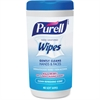 Purell Clean Scent Hand Sanitizing Wipes - Clean - White - Durable, Alcohol-free - For Hand - 40 Sheets Per Canister - 6 / Carton