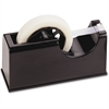 OIC Heavy-duty Tape Dispenser - Holds Total 2 Tape(s) - Refillable - Heavy Duty, Slip Resistant, Impact Resistant, Scratch Resistant, Durable - Rubber Base, Plastic - Black