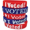 Teacher Created Resources I Voted Wristbands - Silicone