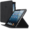 """Solo Carrying Case for iPad Air, iPad Air 2 - Black - Scratch Resistant, Scuff Resistant, Slip Resistant - Silicone Base - 6.9"""" Height x 9.5"""" Width x 0.8"""" Depth"""
