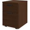"HON 10500 Srs Mocha Laminate Furniture Components - 15.8"" x 18"" x 22"" - 2 x Box Drawer(s), File Drawer(s) - Single Pedestal - Flat Edge - Material: Wood - Finish: Mocha Laminate, Thermofused Laminate"