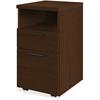 "HON 10500 Srs Mocha Laminate Furniture Components - 15.8"" x 18.9"" x 28"" - 2 x Box Drawer(s), File Drawer(s) - Single Pedestal - Flat Edge - Material: Wood - Finish: Mocha Laminate, Thermofused Laminat"