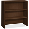"HON 10500 Srs Mocha Laminate Furniture Components - 36"" x 14.6"" x 37.1"" - 2 Shelve(s) - Square Edge - Material: Wood Grain Work Surface, Metal Fastener - Finish: Laminate, Mocha"