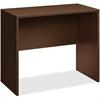 "HON 10500 Srs Mocha Laminate Furniture Components - 48"" x 24"" x 42"" - Square Edge - Material: Wood - Finish: Mocha, Thermofused Laminate (TFL)"