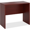 "HON 10500 Desk - 48"" x 24"" x 42"" - Square Edge - Material: Wood - Finish: Mahogany, Thermofused Laminate (TFL)"
