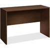 "HON 10500 Srs Mahogany Laminate Office Desking - 60"" x 24"" x 42"" - Square Edge - Material: Wood - Finish: Thermofused Laminate (TFL), Mahogany, Mocha"