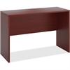 "HON 10500 Srs Mahogany Laminate Office Desking - 60"" x 42"" x 24"" - Square Edge - Material: Wood - Finish: Thermofused Laminate (TFL), Mahogany"