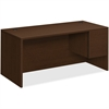 "HON 10500 Series Right Pedestal Desk - 66"" x 30"" x 29.5"", Edge, 66"" x 30"" Work Surface - 2 x File Drawer(s), Box Drawer(s) - Single Pedestal on Right Side - Smooth Edge - Material: Wood Grain Work Sur"