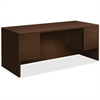 "HON 10500 Series Double Pedestal Desk - 72"" x 36"" x 29.5"" Desk, 72"" x 36"" Work Surface, Top - 4 x File Drawer(s), Box Drawer(s) - Double Pedestal on Left/Right Side - Square Edge - Material: Particleb"