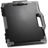 "OIC Clipboard Box - Storage for Tablet, Notebook - 8.50"", 8.50"" x 11"", 14"" - Black, Gray"