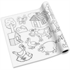 Redi-Tag Self-adhesive Kid's Coloring Pages - 13 ft - 1 Each