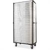 """Samsonite 2200 Series Chair Trolley - 88.18 lb Capacity - 4 Casters - 41"""" Width x 19"""" Depth x 77"""" Height - Steel Frame - Brown"""