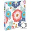 """Avery Fashion Ring Binder - 1"""" Binder Capacity - 175 Sheet Capacity - 1 x Round Ring Fastener(s) - 2 Internal Pocket(s) - Floral"""