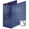 "Business Source Ring Binder - 5"" Binder Capacity - Slant D-Ring Fastener - Internal Pocket(s) - Navy"