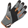 ProFlex 710 Heavy-Duty Utility Gloves - 7 Size Number - Small Size - Neoprene Knuckle, Poly - Gray - Heavy Duty, Padded Palm, Pull-on Tab, Reinforced Fingertip, Hook & Loop Closure, Abrasion Resistant