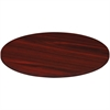 Lorell Chateau Conference Table Top - Edge - Reeded Edge - Finish: Mahogany Laminate