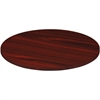 Lorell Chateau Conference Table Top - Reeded Edge - Finish: Mahogany Laminate