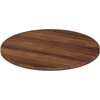 Lorell Chateau Conference Table Top - Edge - Reeded Edge - Finish: Walnut Laminate
