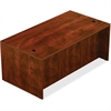 "Lorell Desk - 72"" x 36"" x 30"", Top - Reeded Edge - Finish: Cherry Laminate"