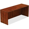 "Lorell Credenza - Top, 72"" x 24"" x 30"" - Reeded Edge - Finish: Cherry Laminate Top"