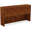 "Lorell Hutch - Top, 72"" x 15"" x 37"" - Reeded Edge - Finish: Cherry Laminate Top"