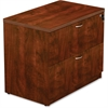 "Lorell Lateral File - Top, 66"" x 15"" x 37"" - Reeded Edge - Finish: Cherry Laminate Top"
