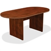 "Lorell Chateau Conference Table - Edge, 36"" x 72"" x 30"", Top - Reeded Edge - Finish: Cherry Laminate"