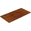 "Lorell Chateau Conference Table Top - Edge, 48"" x 96"" Top - Reeded Edge - Finish: Cherry Laminate"