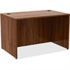 "Lorell Desk - 48"" x 30"" x 29.5"", Edge - Material: Metal, Polyvinyl Chloride (PVC) Edge - Finish: Walnut, Laminate"