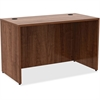 "Lorell Desk - 48"" x 24"" x 29.5"", Edge - Material: Metal, Polyvinyl Chloride (PVC) Edge - Finish: Walnut Laminate"