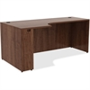 "Lorell Credenza - 72"" x 36"" x 29.5"", Edge - Material: Metal, Polyvinyl Chloride (PVC) Edge - Finish: Walnut Laminate"