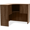 "Lorell Hutch - 41"" x 41"" x 36"", Edge - Material: Metal, Polyvinyl Chloride (PVC) Edge - Finish: Walnut, Laminate"