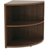 "Lorell Book Rack - 23.6"" Height x 29.5"" Width - Floor - Walnut - Laminate, Polyvinyl Chloride (PVC) - 1Each"