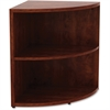 "Lorell Book Rack - 29.5"" Height x 23.6"" Width x 23.6"" Depth - Cherry - Laminate, Polyvinyl Chloride (PVC) - 1Each"