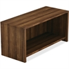 "Lorell Hutch - 36"" x 15"" x 17"" Hutch, Edge - Material: Polyvinyl Chloride (PVC) Edge, Metal - Finish: Walnut, Laminate"