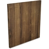 Lorell Door - 708.7 mil Thickness - Wood, Polyvinyl Chloride (PVC) - Walnut