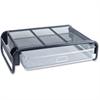 "Monitor Stand - 4.6"" Height x 18.5"" Width x 14.5"" Depth - Desktop - Steel - Silver, Black"