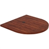 """Lorell Prominence Conference Table Top - Oval Top - 48"""" Table Top Width x 48"""" Table Top Depth x 2"""" Table Top Thickness - Assembly Required"""