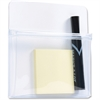 "Tatco Magnetic Pouch - 1"" Height x 6.5"" Width x 6.5"" Depth - White - Plastic - 1Each"