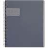 "TOPS Notebook - Printed - Twin Wirebound - College Ruled 8.75"" x 11"" - Gray Cover"